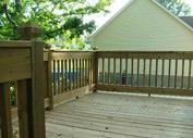 Ultra wood decks building,  Houston