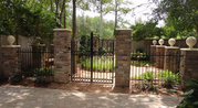 Wrought Iron Driveway Gate and Grills