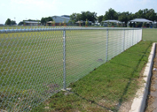 Chain link fences,  Houston,  TX