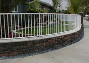 Wrought Iron fence in Houston,  TX