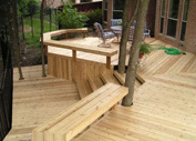 Skilled Wood Deck manufacturers in Houston,  TX