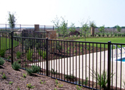 Wrought Iron Fence in Houston
