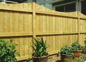 Wood Fence builder in Houston