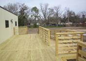 Wood Deck Builder in TX