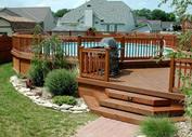 Wood Deck Builder ,  Houston