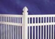Vinyl Fence in Houston
