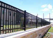 Wrought Iron Fence,  Houston,  TX
