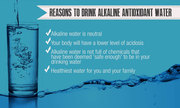 Good Reasons for Drinking Alkaline Ionized Water