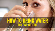 An Appropriate Time to Drink Water for Losing Weight