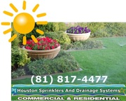 Houston Lawn Sprinklers Installation
