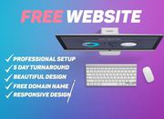 I WILL BUILD A FREE WEBSITE FOR YOUR BUSINESS WITHIN 5 DAYS(best)