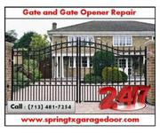24/7 Gate Opener Repair & Installation in Spring,  Houston