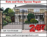 Gate & Gate Opener Repair | Call 713-473-8168