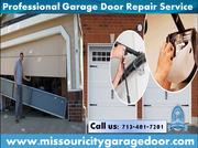 Best Garage Door Services & Repair Company in Missouri City,  TX