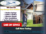 Most excellent Garage Door Repair Service Provider Company in Katy