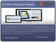 Spotfire Consulting Services Company Houston