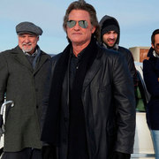 THE ART OF THE STEAL KURT RUSSELL BLACK JACKET