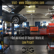 Certified Mercedes Benz Mechanic For Fast Auto Repair