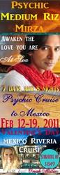 Psychic Cruise with Riz Mirza-